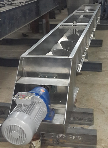 SS Pandle Type Screw Conveyor