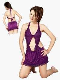 Hot N Sweet 31 B Wine Short Nightwear