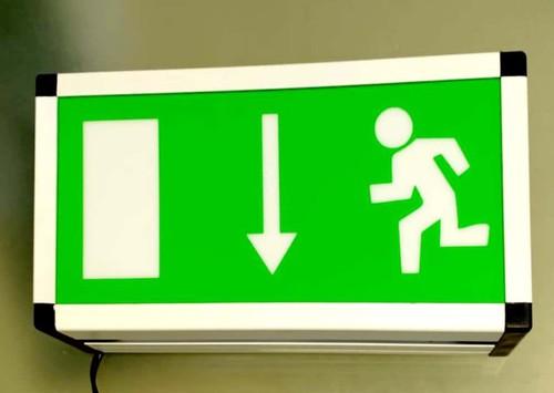 LED Exit Light Box Type
