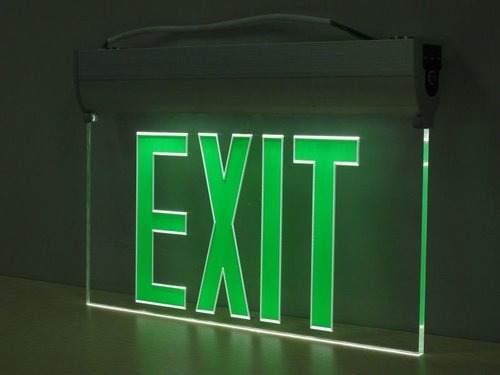 LED Emergency Exit Lights
