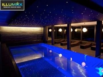 Swimming Pool Fiber Optic Lighting