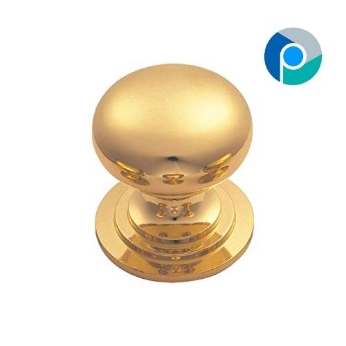 Brass Hollow Knob GEO