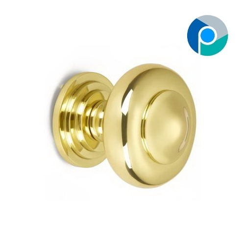 Brass Solid Knob 25MM