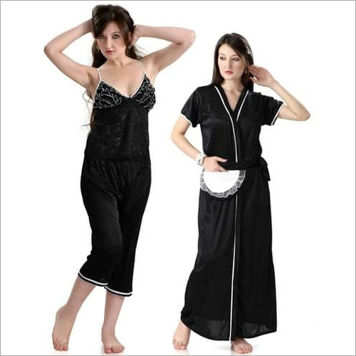 Hot N Sweet Beautiful 9010 E Three Pcs Nighty