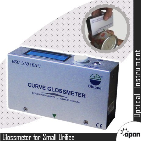 Gloss Meter for Curve Surface