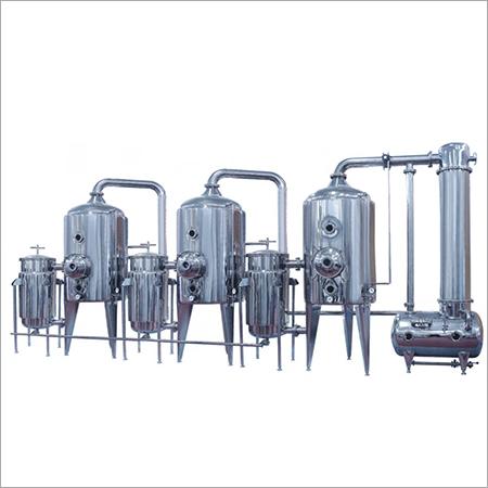 Triplicate (Multiple-effect) Energy Saving Concentrator