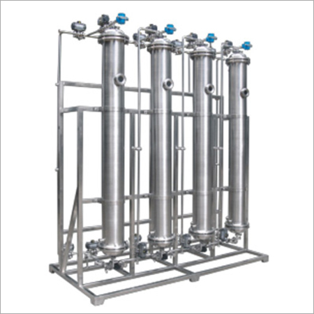 Stainless Steel Resin-exchange Column