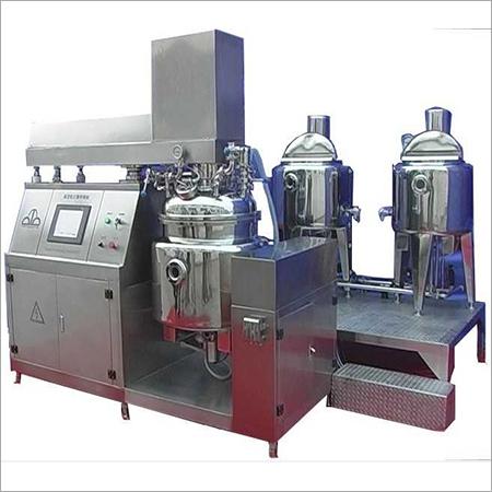 Automatic Vacuum Mixing Emulsifier