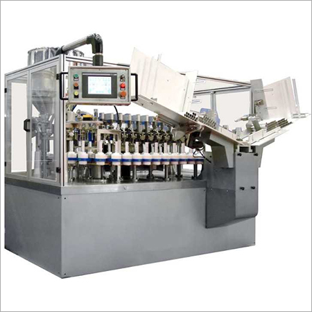 Tube Fill And Seal Machine
