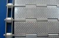 Slat Belt Perforated Hinges