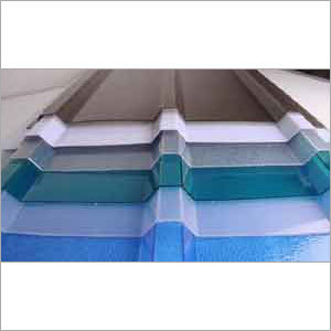 Profiled FRP-Polycarbonate Sheet