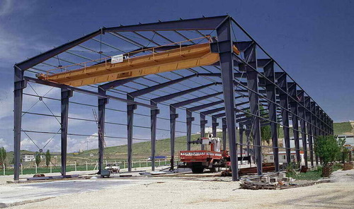 Prefabricated steel Building