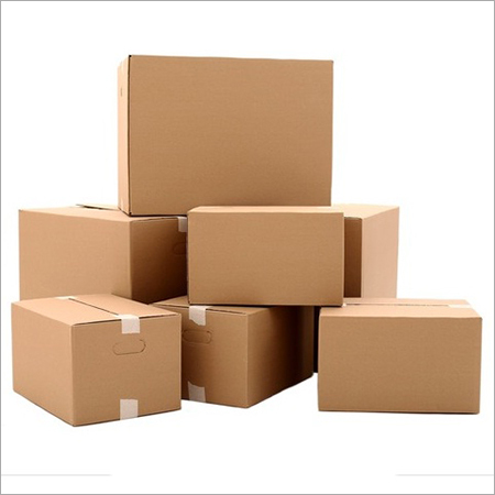 Unprinted Corrugated Boxes