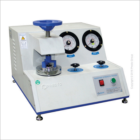 Kraft Paper Brusting Strength Tester
