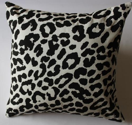 foil print cushion cover
