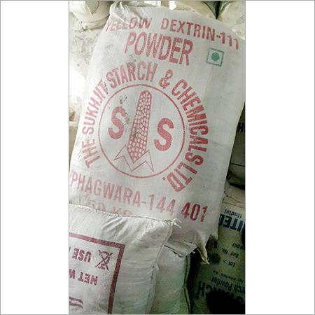 Yellow Dextrin-111 Powder