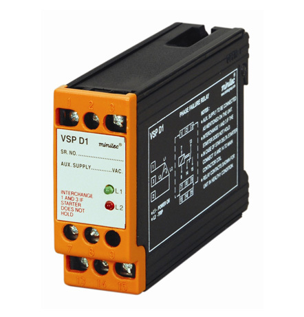 Minilec Phase Failure Relays VSP D1