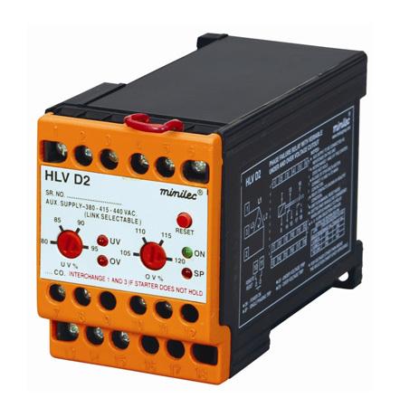 Minilec Phase Failure Relays HLV D2