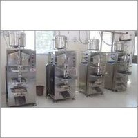 Water Pouch Packing Machine