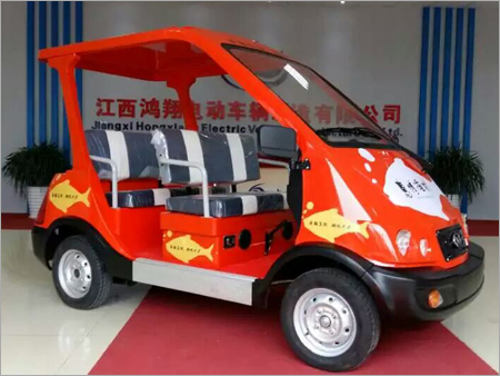Electric Sightseeing Car With 4 Seats