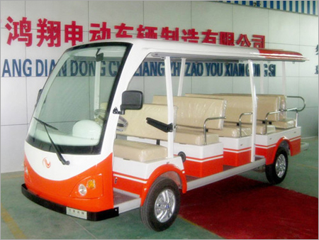 Electric Sightseeing Car With 14 Seats