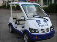 Electric Patrol Car With 4 Seats
