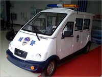 Closed Patrol Car With 6 Seats