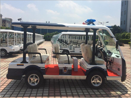 Electric Patrol Car With 8 Seats