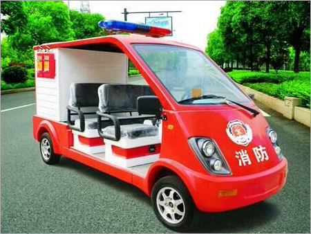 Fire Fighting Patrol Car With 4 Seats