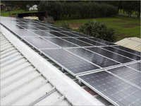 Solar Panel Roof Mounting Structure