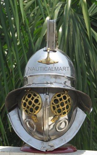 Roman Gladiator Medieval Helmet Werable Armor