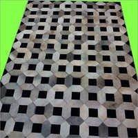 Stylish Leather Carpets
