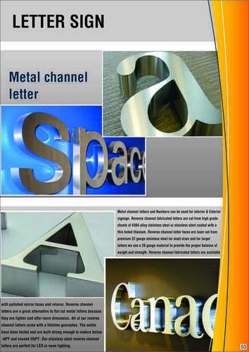 Letter Sign