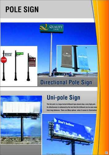 Way Finding Sign