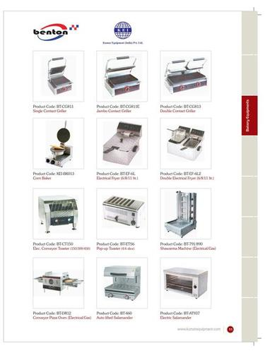 Bakery Equipments - Catalog- 10
