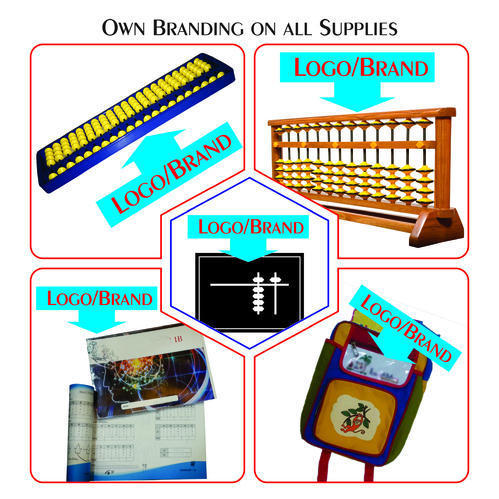 Your OWN BRANDED Abacus Supplies