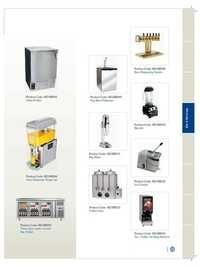 Bar & Baverage Equipments - Catalog-12