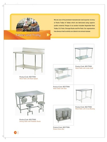 Tables & Trolley - Catalog-14
