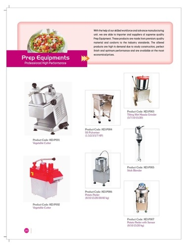 Prep Equipments - Catalog-16