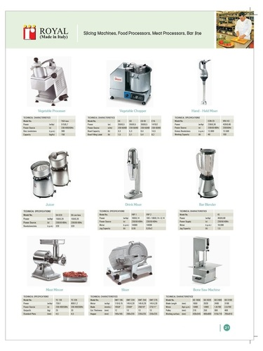Hotel & Kitchen Equipments - Catalog-17