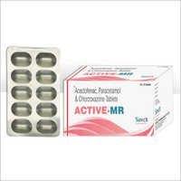 Aceclofenac Paracetamol Chlorzoxazone Tablets