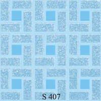 Blue Colour Square Floor Tiles