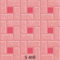 Dark Pink Floor Tiles