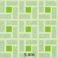 Green Square Floor Tiles