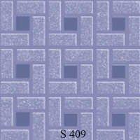 Light Violet Square Floor Tiles