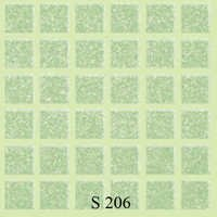 Green Hexa Floor Tiles