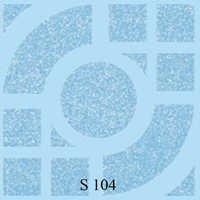 Blue Arc Series Floor Tiles