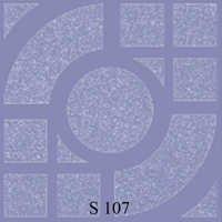 Special Blue Arc Series Floor Tiles