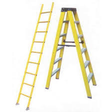 Fiberglass Wall Support Ladder