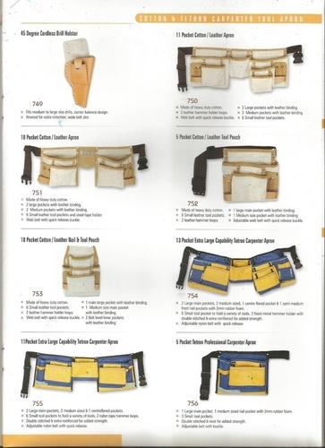 Leather Carpenter Apron
